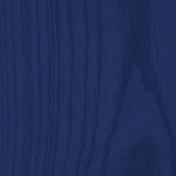 Blau gefärbte Asche