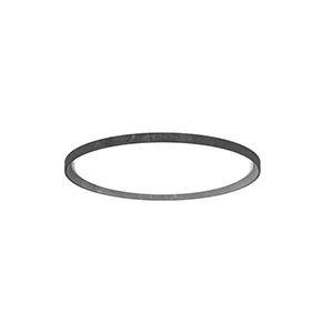 LP Slim Round_Aluminium Brut Foncé