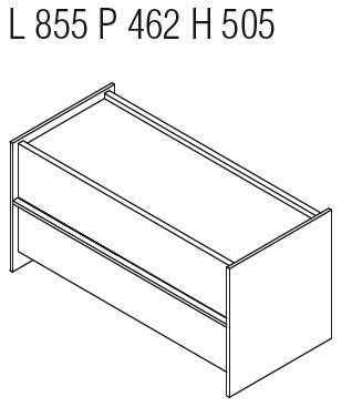 Casper CCN4_ 85.5 x 46.2 x H 50.5 cm