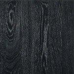 Black stained oak