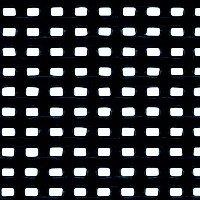 Tissu maillé_ Bleu foncé (R008)