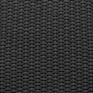 Corde en papier tressè noire