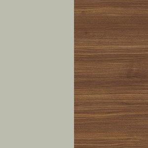 Silk Gray / Canaletto walnut