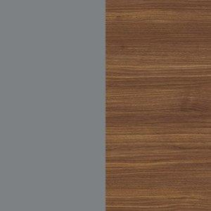 Dusty Gray / Canaletto walnut