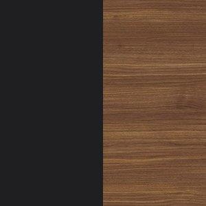 Black / Canaletto walnut