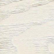 White painted RAL 9016 European ash - brushed